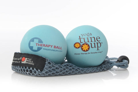 Yoga Tune up massage balls Aqua blue Slf