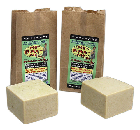 Sallye Ander no-bite-me soap 2 pack self