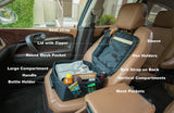 Carpack Car Organizer: Keep Things Accessible and Organized, Convert to a Bag, Attach to Car Seat to Prevent Slide-Off!
