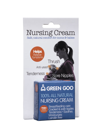 GreenGoo nursing cream travel tin self