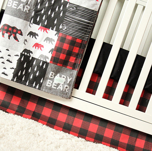 Baby Bear Crib Bedding Set