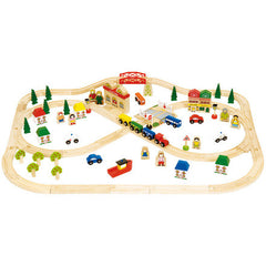 Wooden Train Sets & Accessories