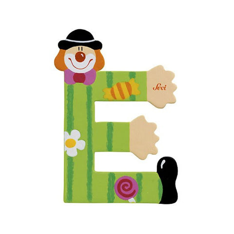 Sevi Clown Letters | E