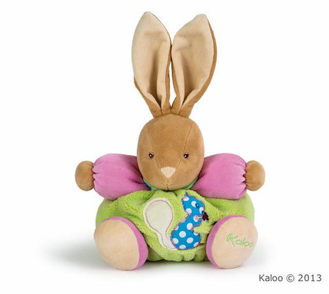 Plush Pink and Green Rabbit Medium*