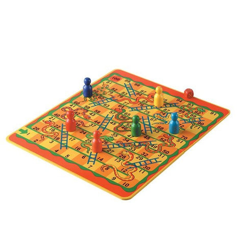 Snakes and Ladders - 100 Squares - Lanka Kade GB03