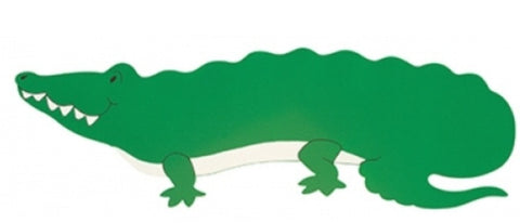 Name Plaque | Green Crocodile