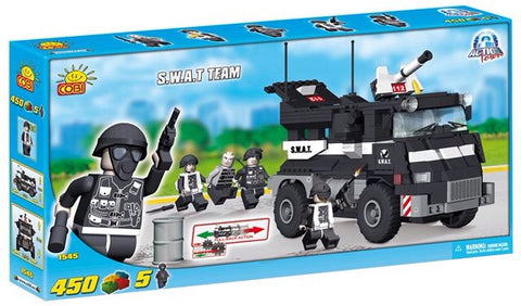 Police SWAT Team - Cobi Action Town