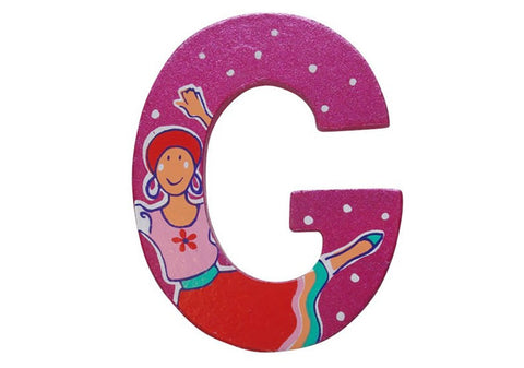 Pink Fairytale Letter G