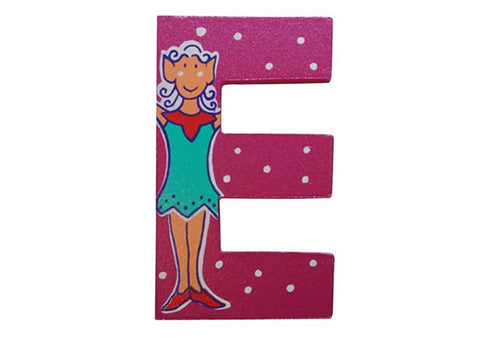 Pink Fairytale Letter E