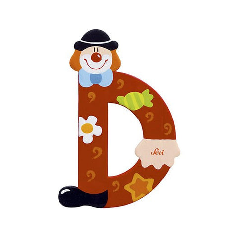 Sevi Clown Letters | D
