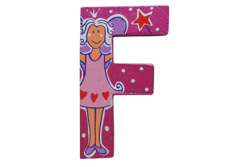 Pink Fairytale Letter F
