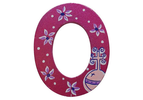 Pink Fairytale Letter O