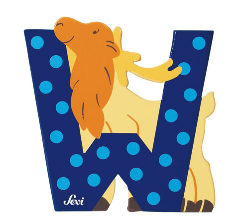 Sevi Animal Letters | W