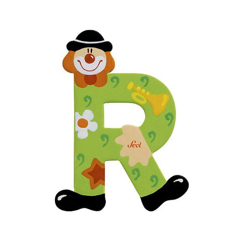 Sevi Clown Letters | R