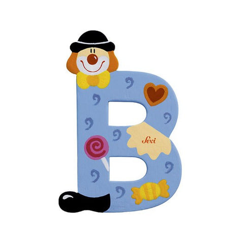 Sevi Clown Letters | B