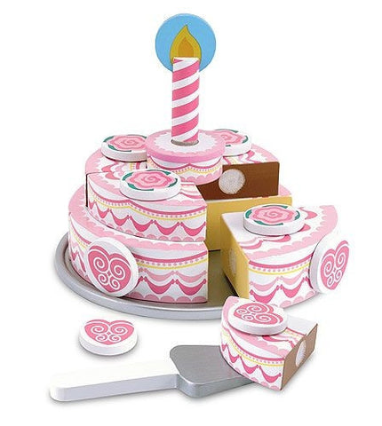 Triple-layer Party Cake - Melissa and Doug 14069
