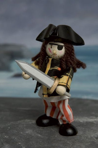 Budkins Pirate with Eye Patch - Le Toy Van BK978