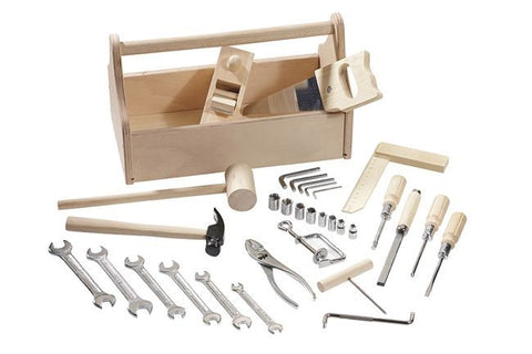 Real Tool Set and Toolbox | 32 Piece