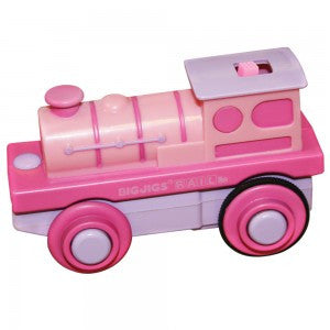 BigJigs Rail Pink Battery Operated Engine