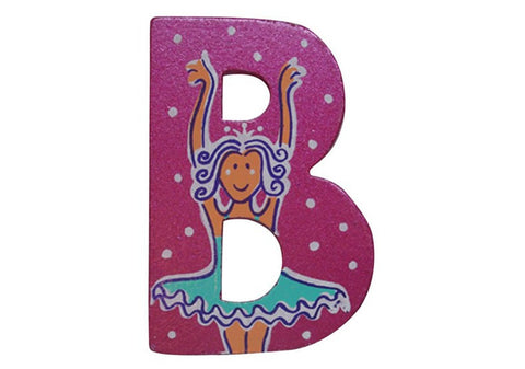 Pink Fairytale Letter B
