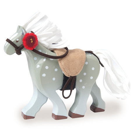 Le Toy Van | Budkins Grey Horse with Saddle