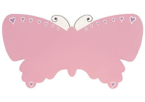 Name Plaque | Pink Butterfly