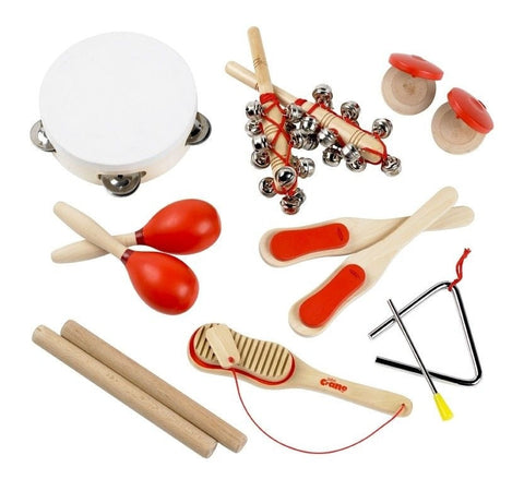 Musical Percussion Set Red 1260