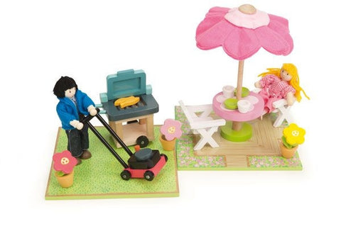 Patio and Barbecue Set - Le Toy Van ME078