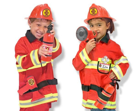 Fire Chief Play Dress up Set by Melissa and Doug MD14834