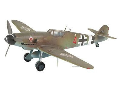 Messerschmitt Bf 109 G-10 1:72 - Complete Model Set with Glue and Paint Revell 04160