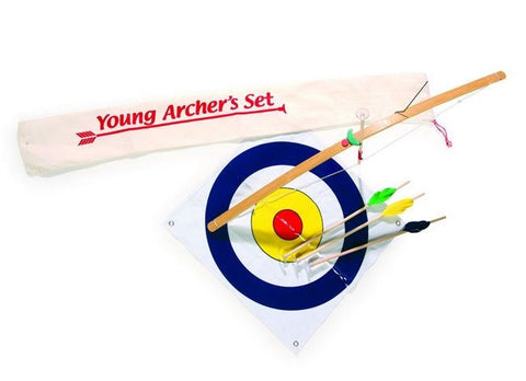 Archers Bow and Arrow and Target Set