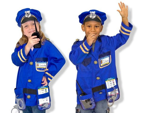 Police Officer Play Dress up Set by Melissa and Doug MD14835