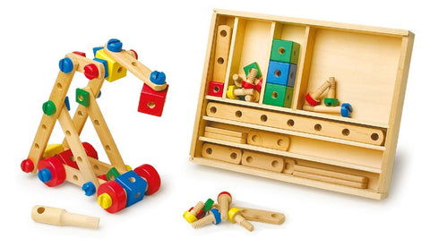 Wooden Construction Set | 84 pcs