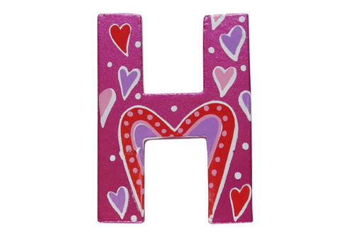 Pink Fairytale Letter H