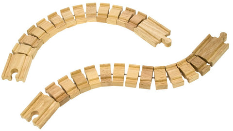 BigJigs Rail Crazy Bendy Track | Pack of 2