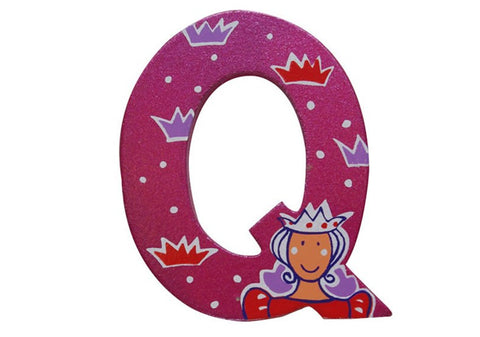 Pink Fairytale Letter Q