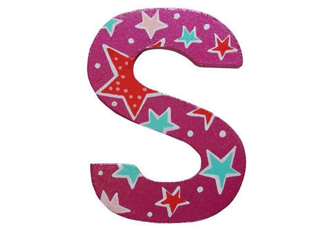 Pink Fairytale Letter S
