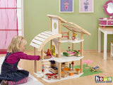 Howa | Beach Villa Dolls House with 30pcs of Furniture