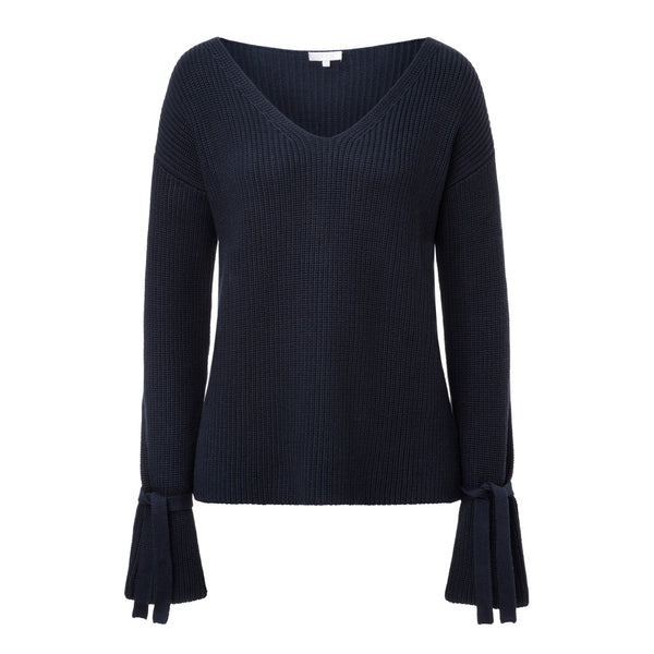"Grobstrick-Jumper ""JAC"" - Navy"