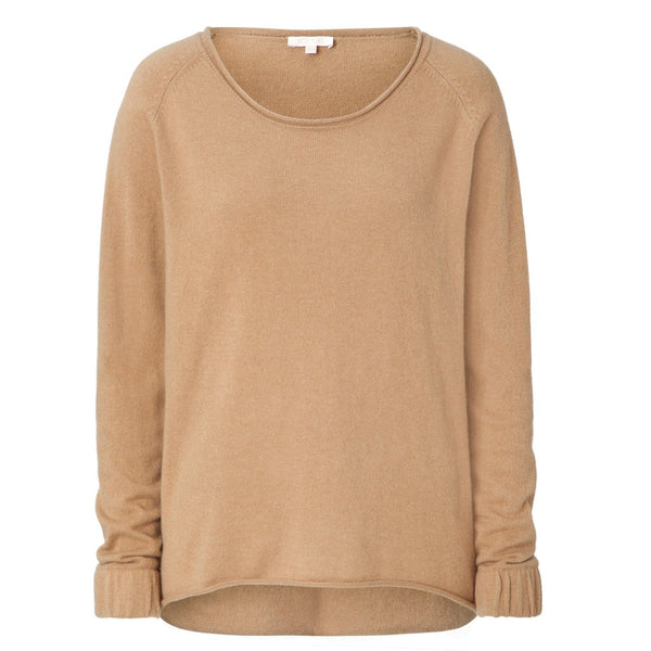 Cashmere Sweater für Damen in camel