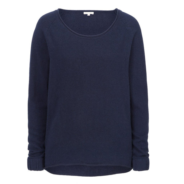 Cashmere Sweater für Damen in navy