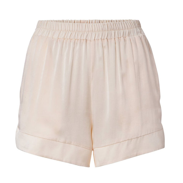 Seidenshorts in rose für Damen