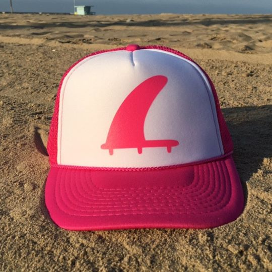 perfect storm fins trucker hat