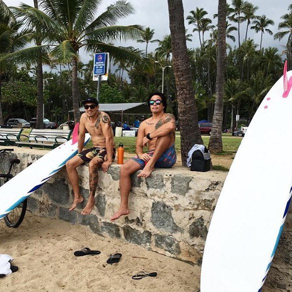 perfect storm fins in hawaii...and friends