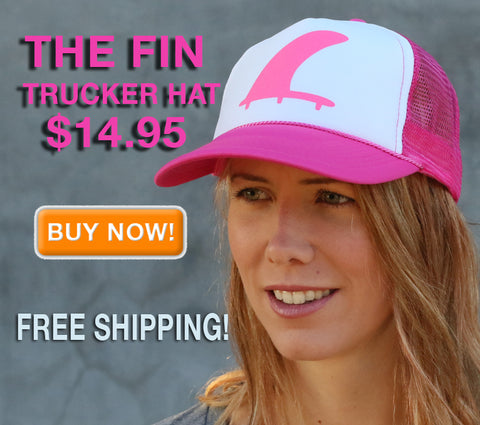 Perfect Pink Fin Trucker Hat