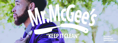 "Mr. McGee's ""Keep it clean"" for men"
