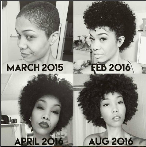 How to take care of natural black hair after the big chop