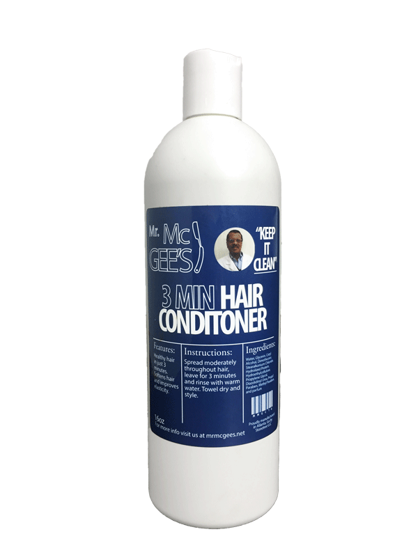"Mr. McGee's ""Keep it Clean"" 3 MINUTE HAIR CONDITIONER  Conditioner - Natural Hair Care - NaturallySILK2"