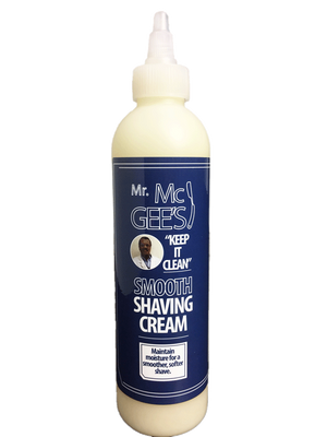"Mr. McGee's ""Keep it Clean"" Smooth Shaving Cream  shaving cream - Natural Hair Care - NaturallySILK2"