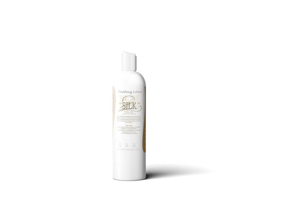 SILK2 Finishing Lotion  Curl system - Natural Hair Care - NaturallySILK2